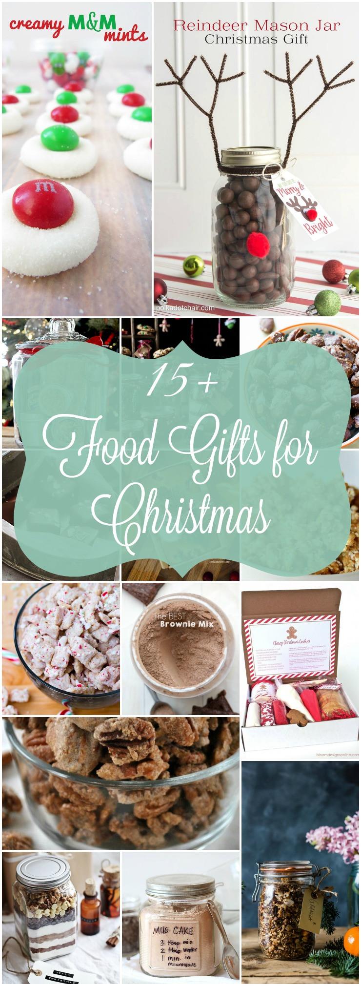 Food Gifts For Christmas  Homemade Food Gifts for Christmas