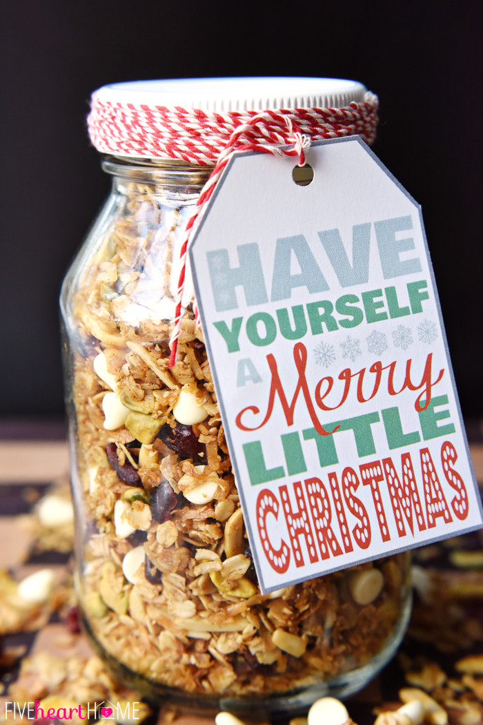 Food Gifts For Christmas  22 Mason Jar Christmas Food Gifts – Recipes for Gifts in a