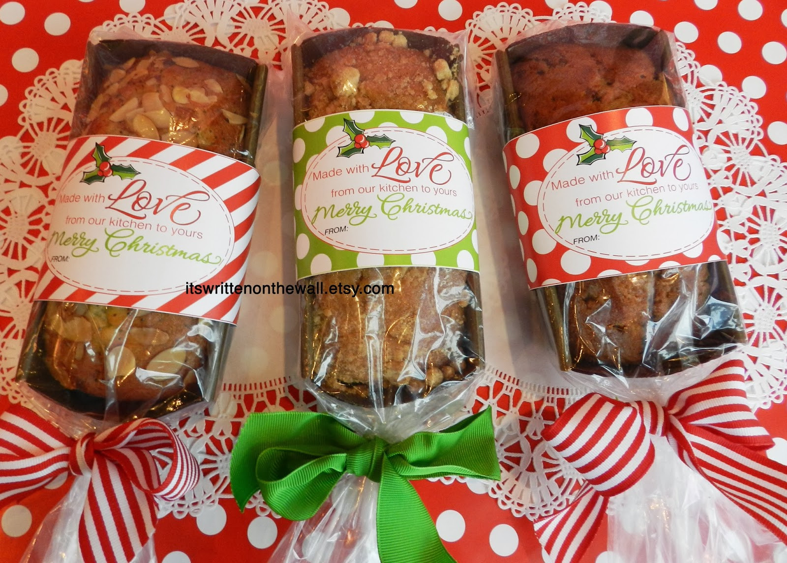Food Gifts For Christmas  It s Written on the Wall 286 Neighbor Christmas Gift