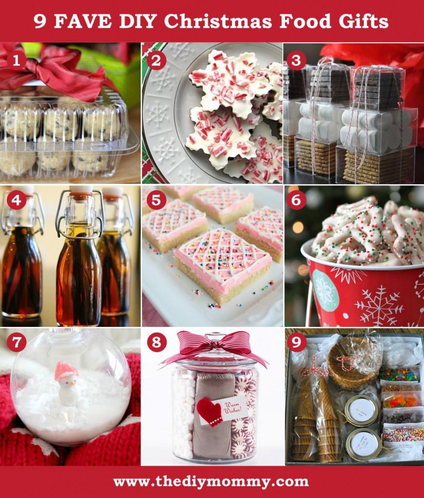 Food Gifts For Christmas  A Handmade Christmas DIY Food Gifts