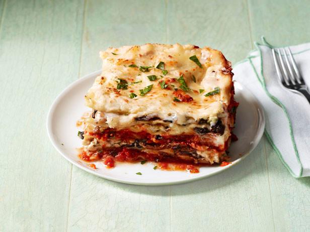 Food Network Lasagna  Made Over Veggie Lasagna — Meatless Monday