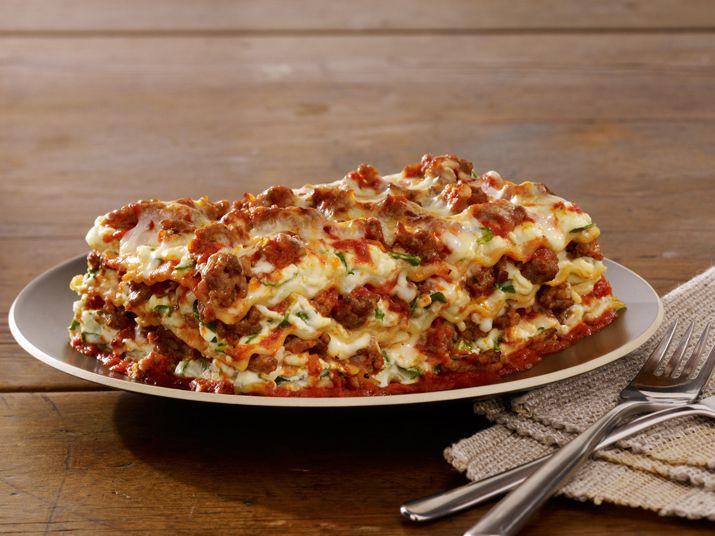 Food Network Lasagna  Sausage Lasagna Recipe