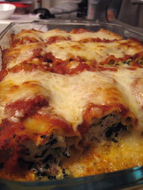 Food Network Lasagna  Lasagna Rolls Food Network top ten recipes in 2008