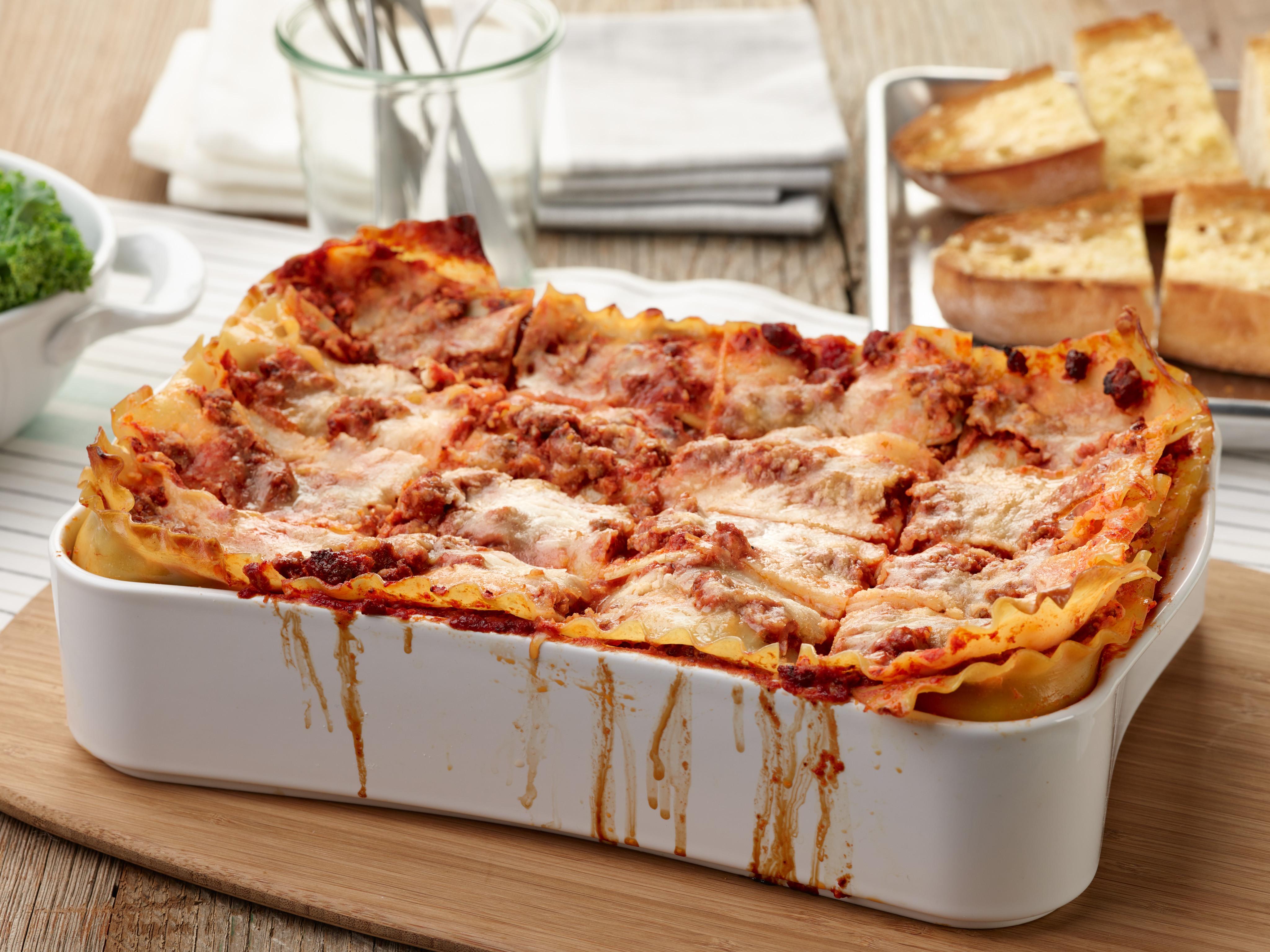 Food Network Lasagna  The Ultimate Lasagna Recipe Tyler Florence Food Network