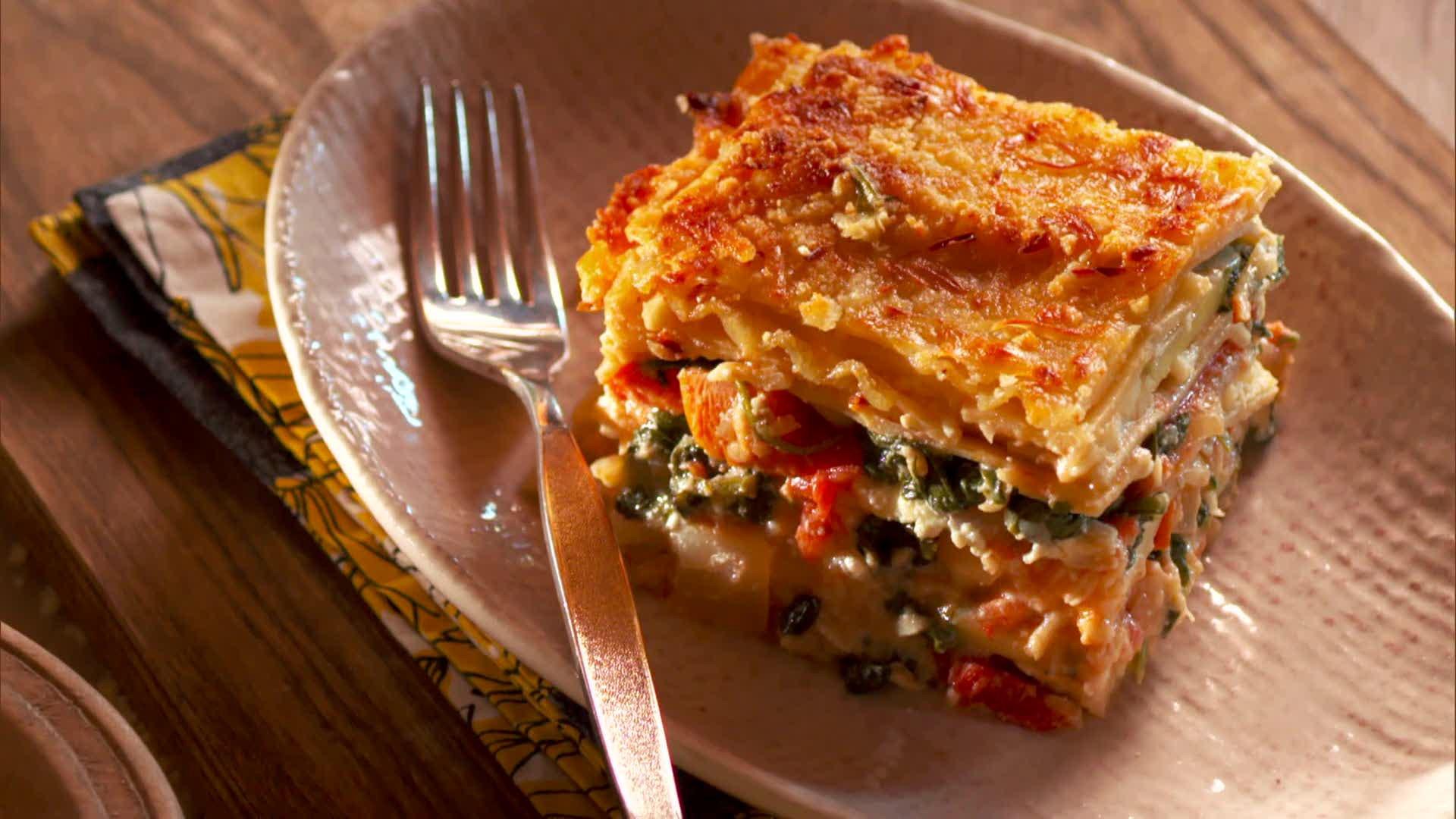 Food Network Lasagna  easy ve able lasagna recipe food network