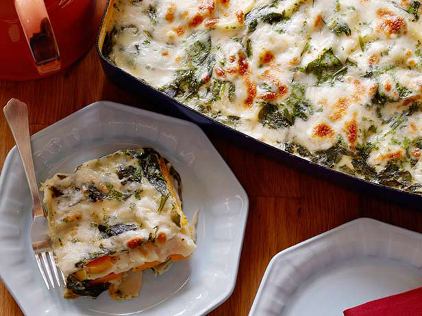 Food Network Lasagna  Veggie Lasagna — Most Popular Pin of the Week