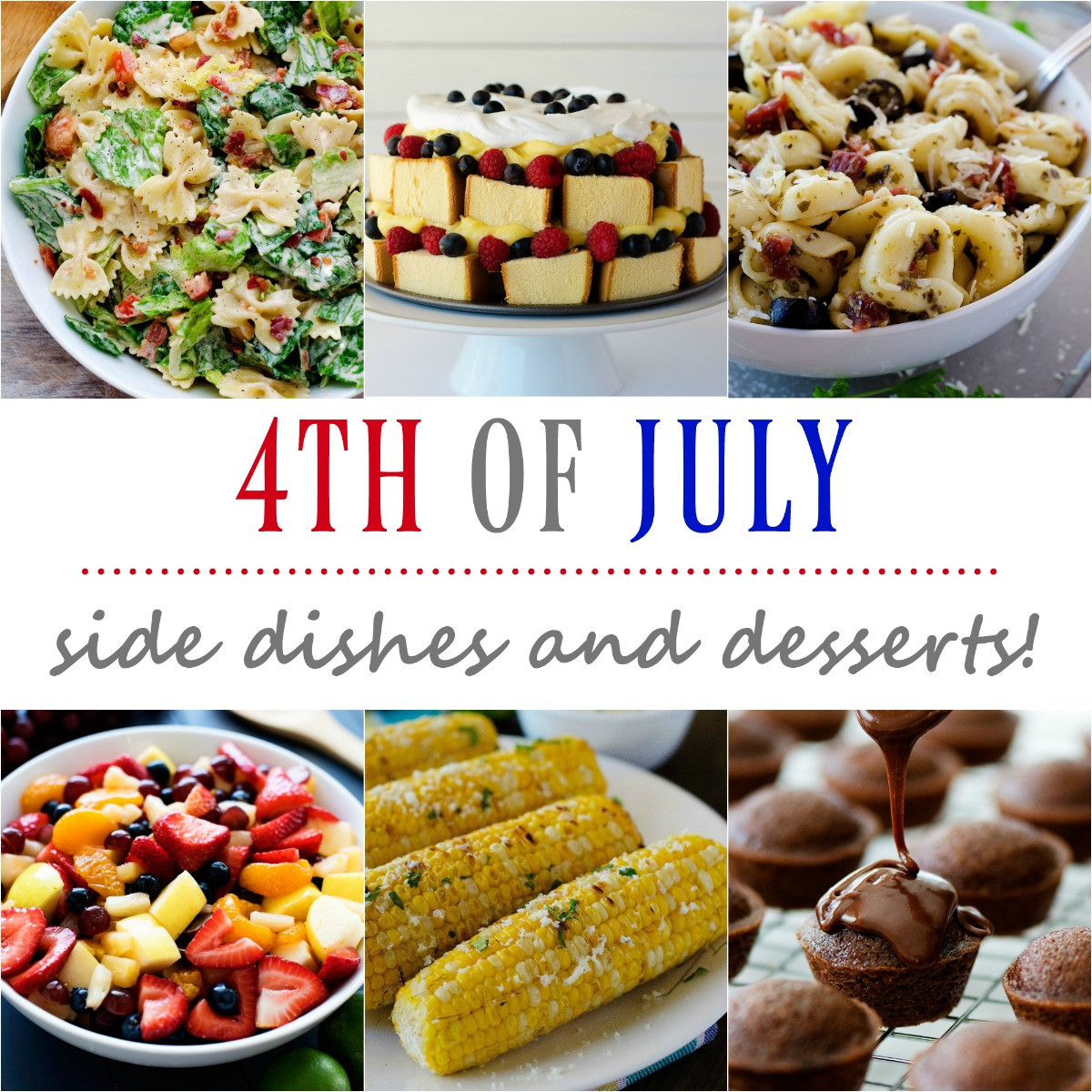 Fourth Of July Side Dishes  4th of July side dishes and desserts Life In The Lofthouse