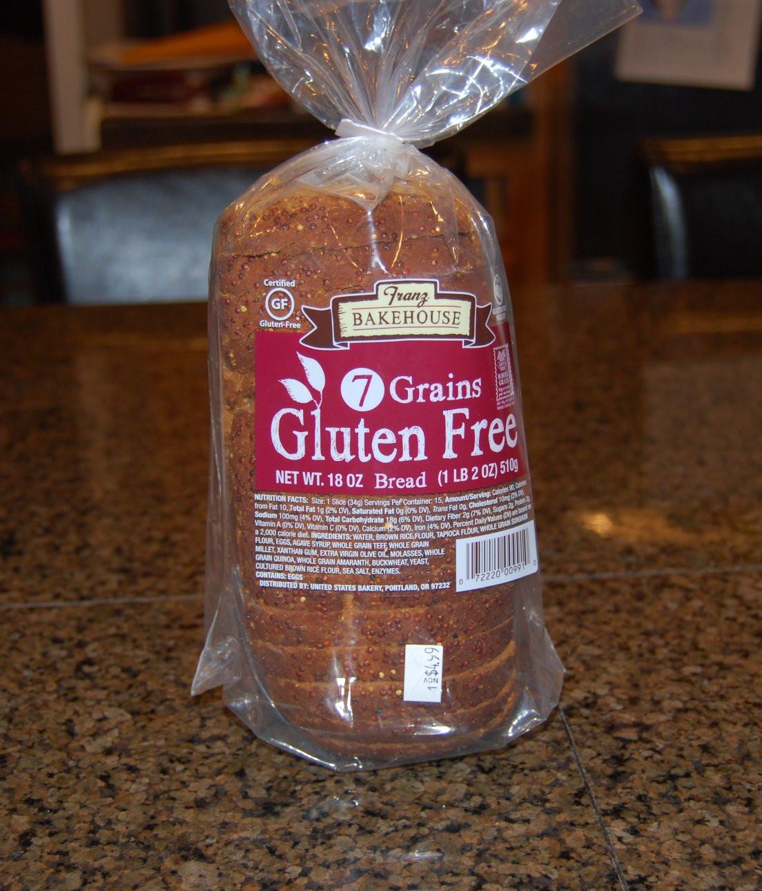 Franz Gluten Free Bread  Valerie s Patch Work Review Franz 7 Grains Gluten Free Bread