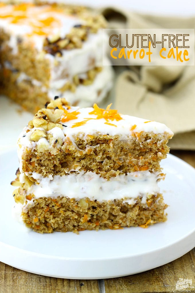 Free Birthday Dessert  Gluten Free Carrot Cake A Very Special Birthday The