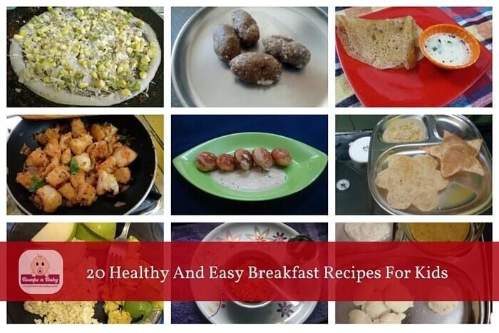 Free Breakfast For Kids  20 Quick Breakfast Ideas for Kids FREE Printable PDF
