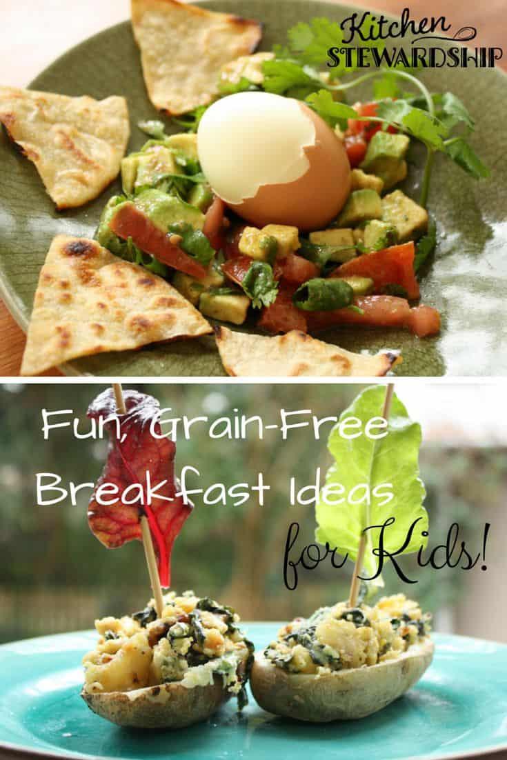Free Breakfast For Kids  2 Grain Free and FUN Breakfast Recipes for Kids