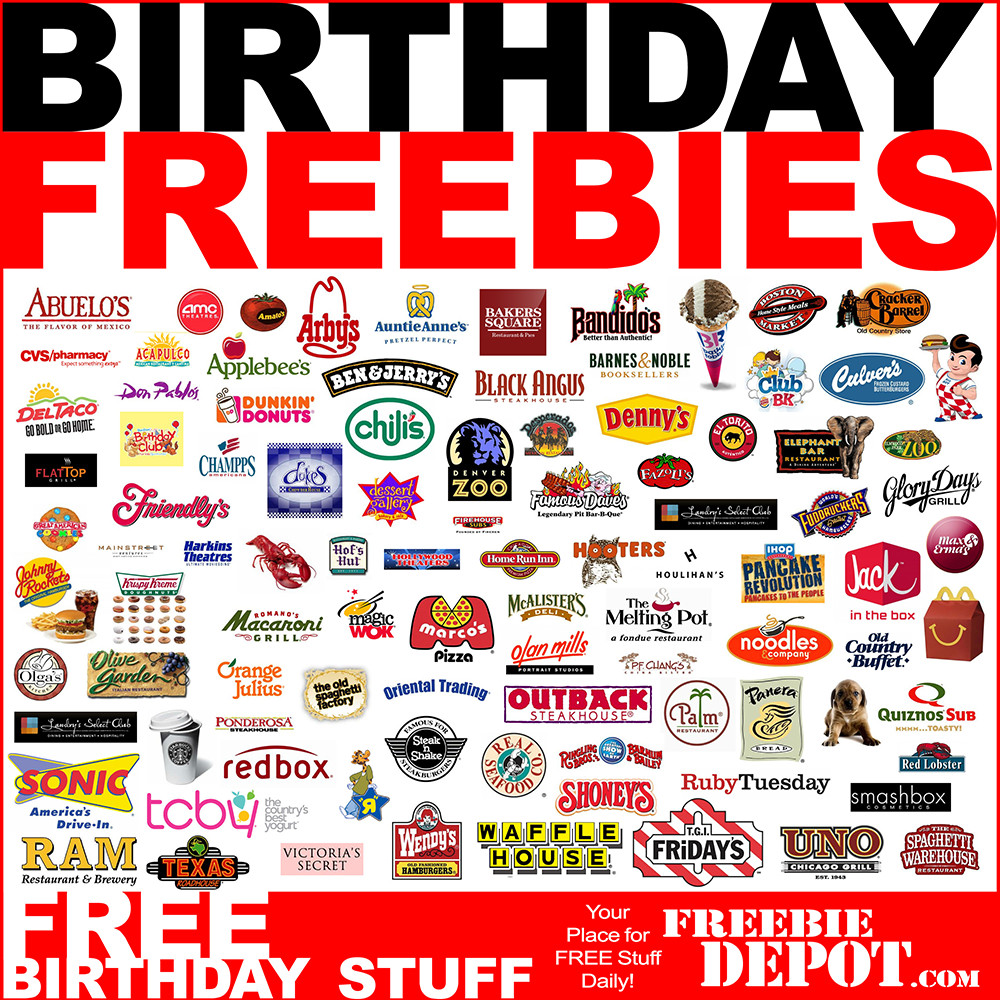 Free Dinner On Your Birthday  Free Birthday Meals Restaurant Guide