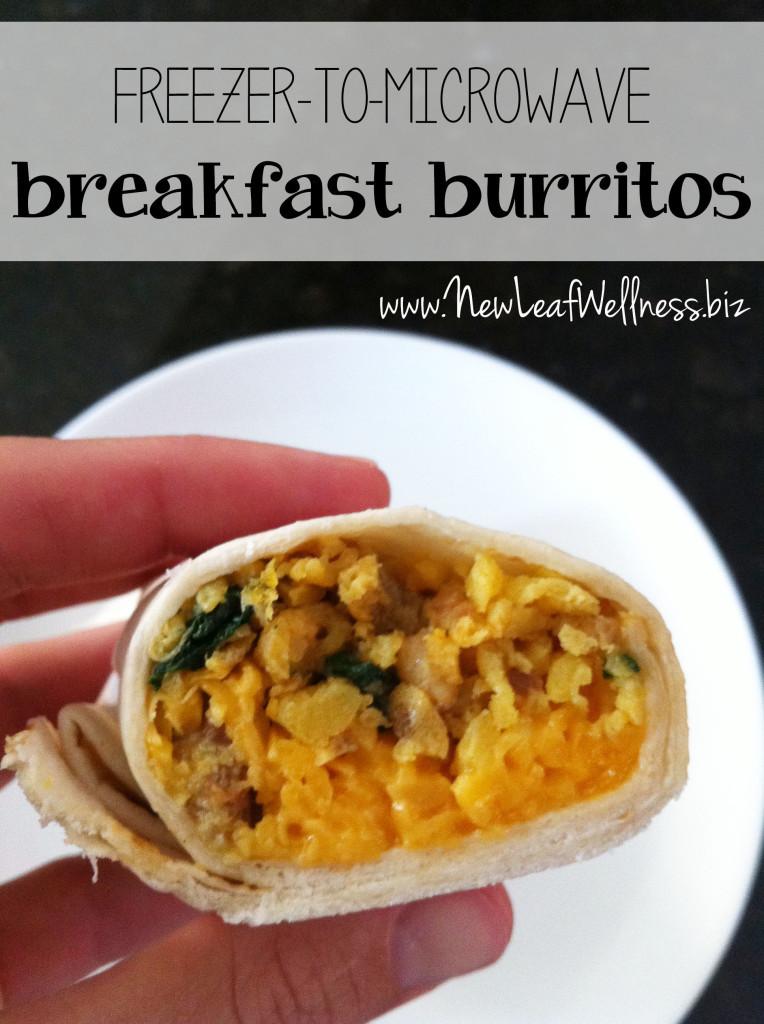 Freezable Breakfast Burritos  403 Forbidden