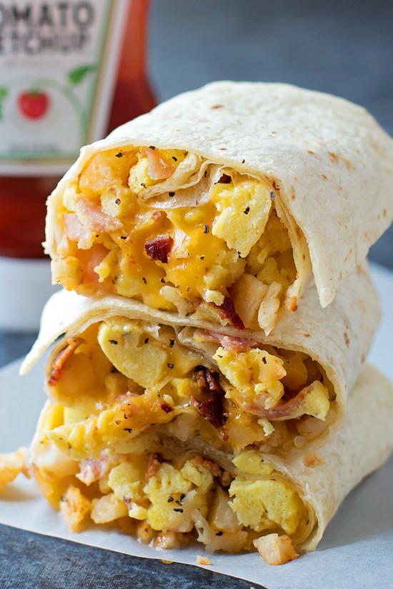 Freezable Breakfast Burritos  Freezer Friendly Breakfast Burritos Life Made Simple