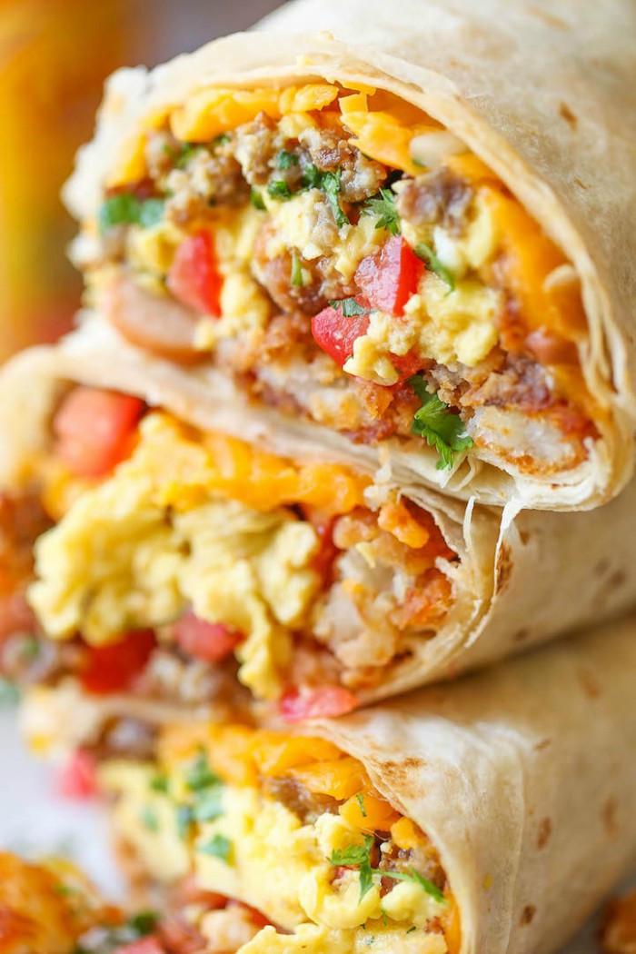 Freezable Breakfast Burritos  15 Breakfast Burritos That ll Make You Love Mornings