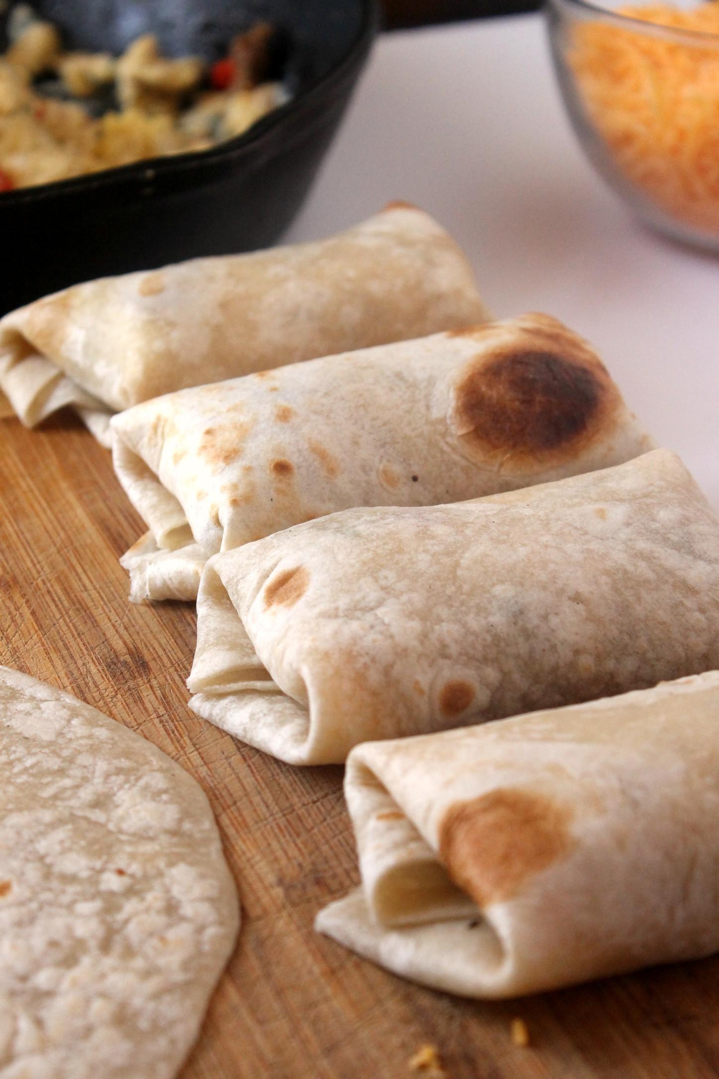Freezable Breakfast Burritos  Perfect Breakfast Burritos Freezer Friendly