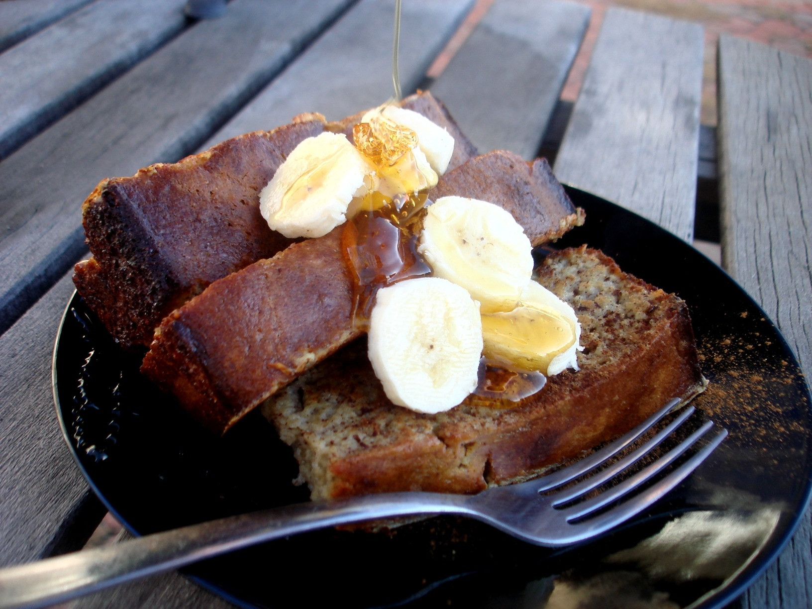 French Bread French Toast  Banana Bread French Toast