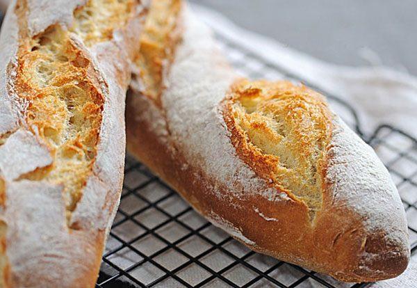 French Bread Recipe  Baguettes bread recipe – Home Bread Baguettes recipe