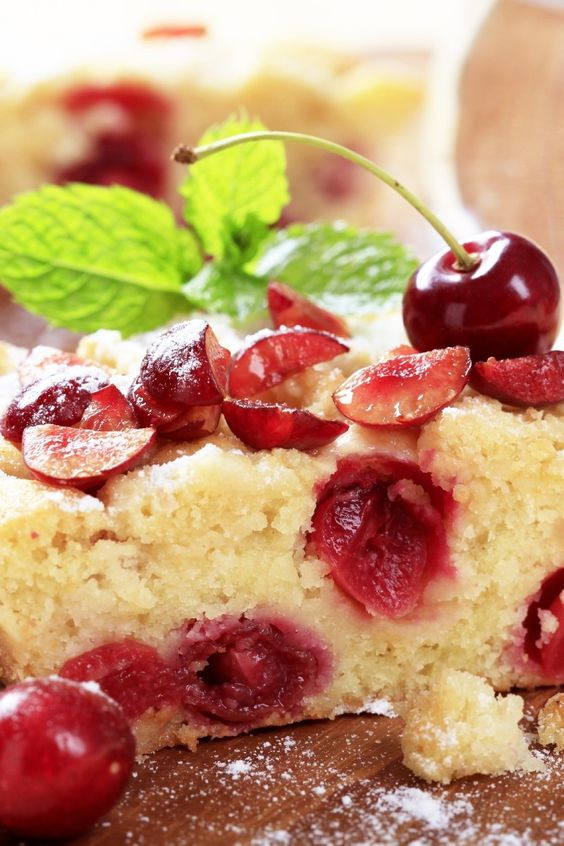 French Dessert Recipes  Cherry Clafoutis Recipe Rustic French dessert of juicy