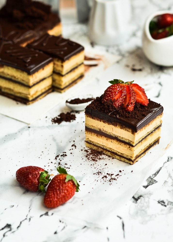 French Dessert Recipes  Pumped for Hump day Opera Cake