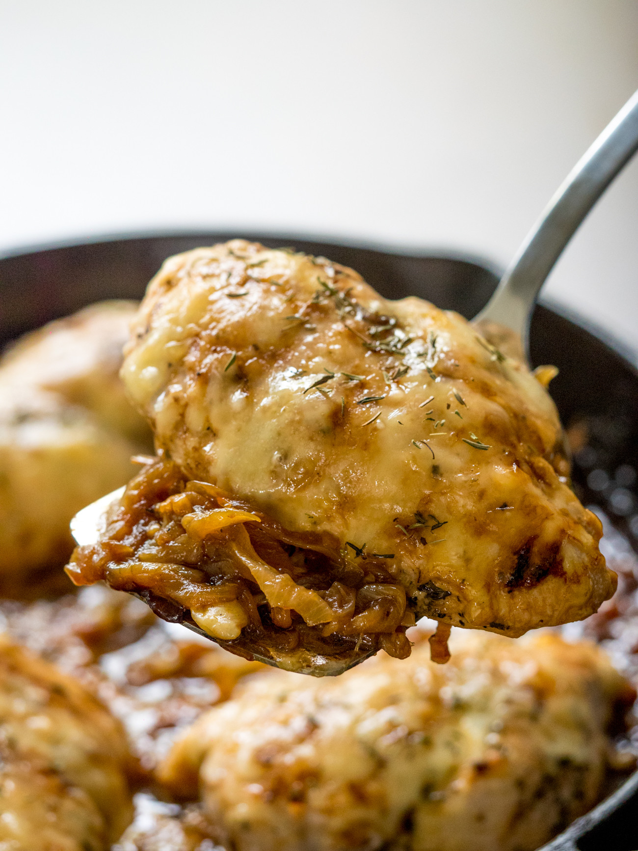 French Onion Chicken  French ion Chicken Skillet – 12 Tomatoes