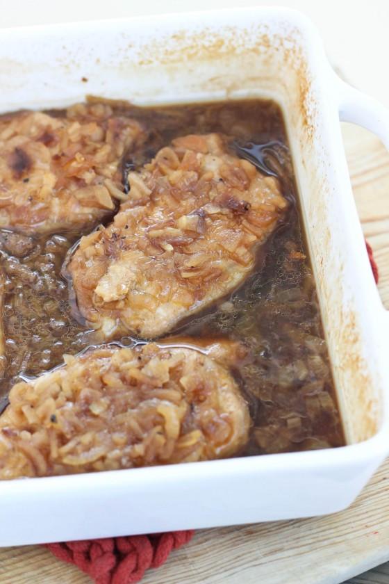 French Onion Pork Chops  French ion Pork Chops