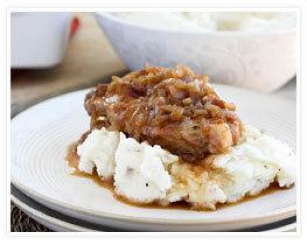 French Onion Pork Chops  French ion Pork Chops Recipe