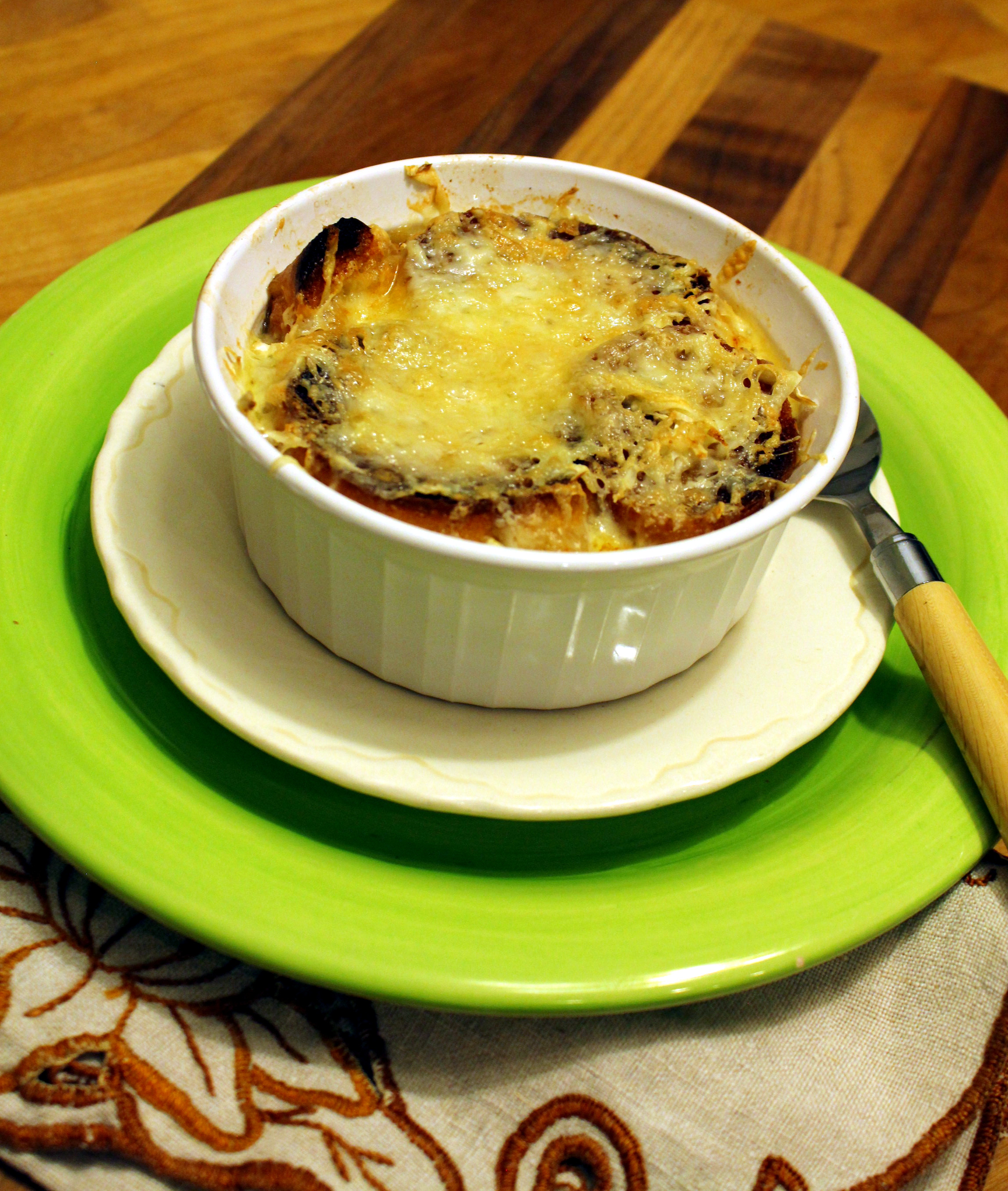 French Onion Soup Cheese  French ion Soup with Brie Cheese