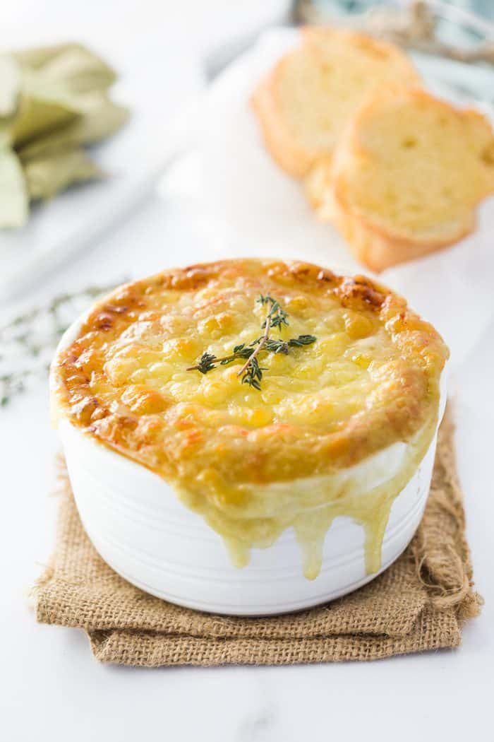 French Onion Soup Instant Pot  Instant Pot French ion Soup The Cozy Cook