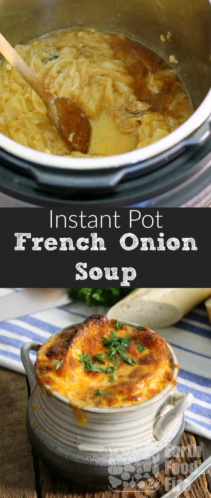French Onion Soup Instant Pot  French ion Soup Made Easier In The Instant Pot