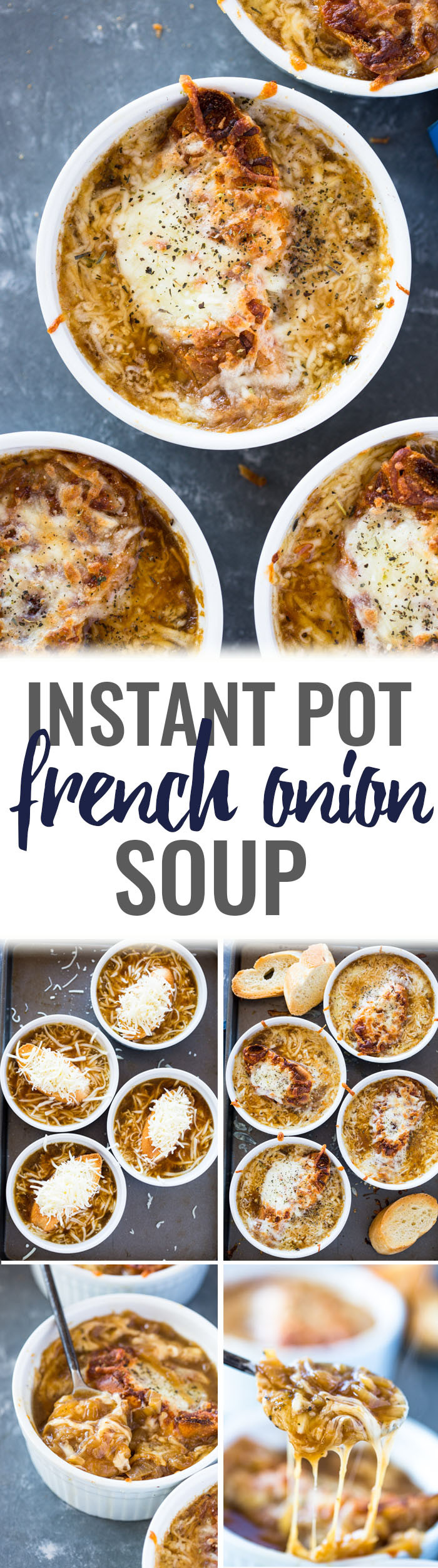 French Onion Soup Instant Pot  Instant Pot French ion Soup