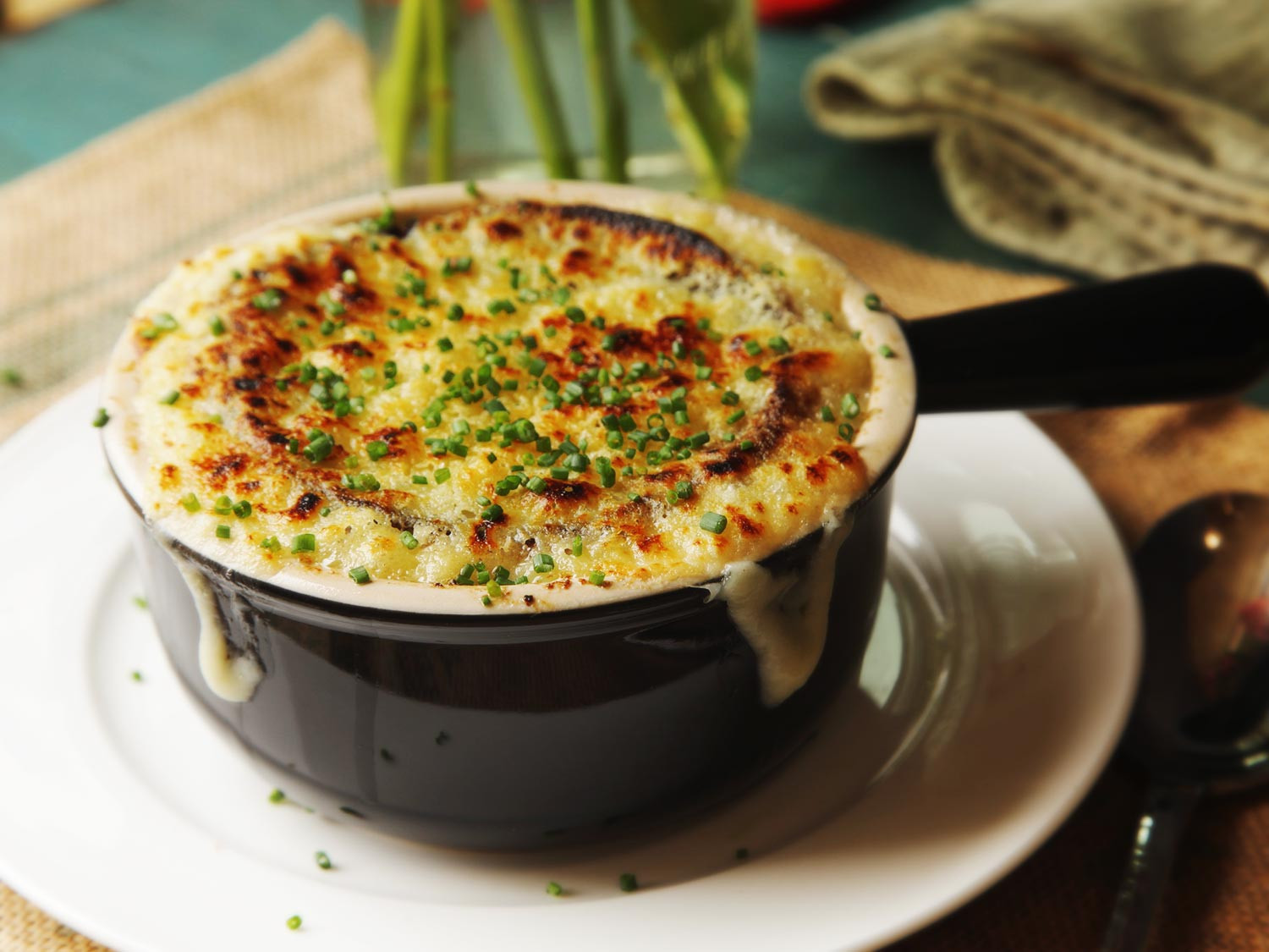 French Onion Soup Recipe  The Food Lab Use the Pressure Cooker for Quick
