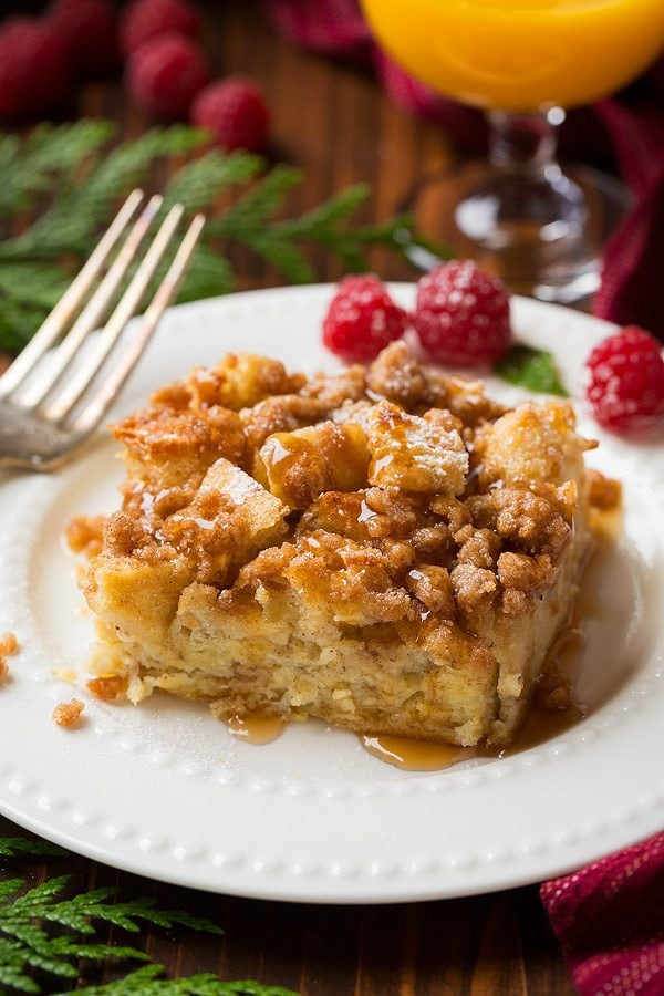 French Toast Casserole  Overnight French Toast Casserole Cooking Classy