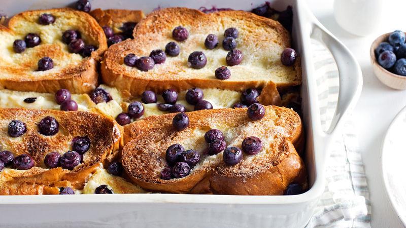 French Toast Casserole Cream Cheese  Overnight Blueberry Lemon Cream Cheese French Toast Recipe