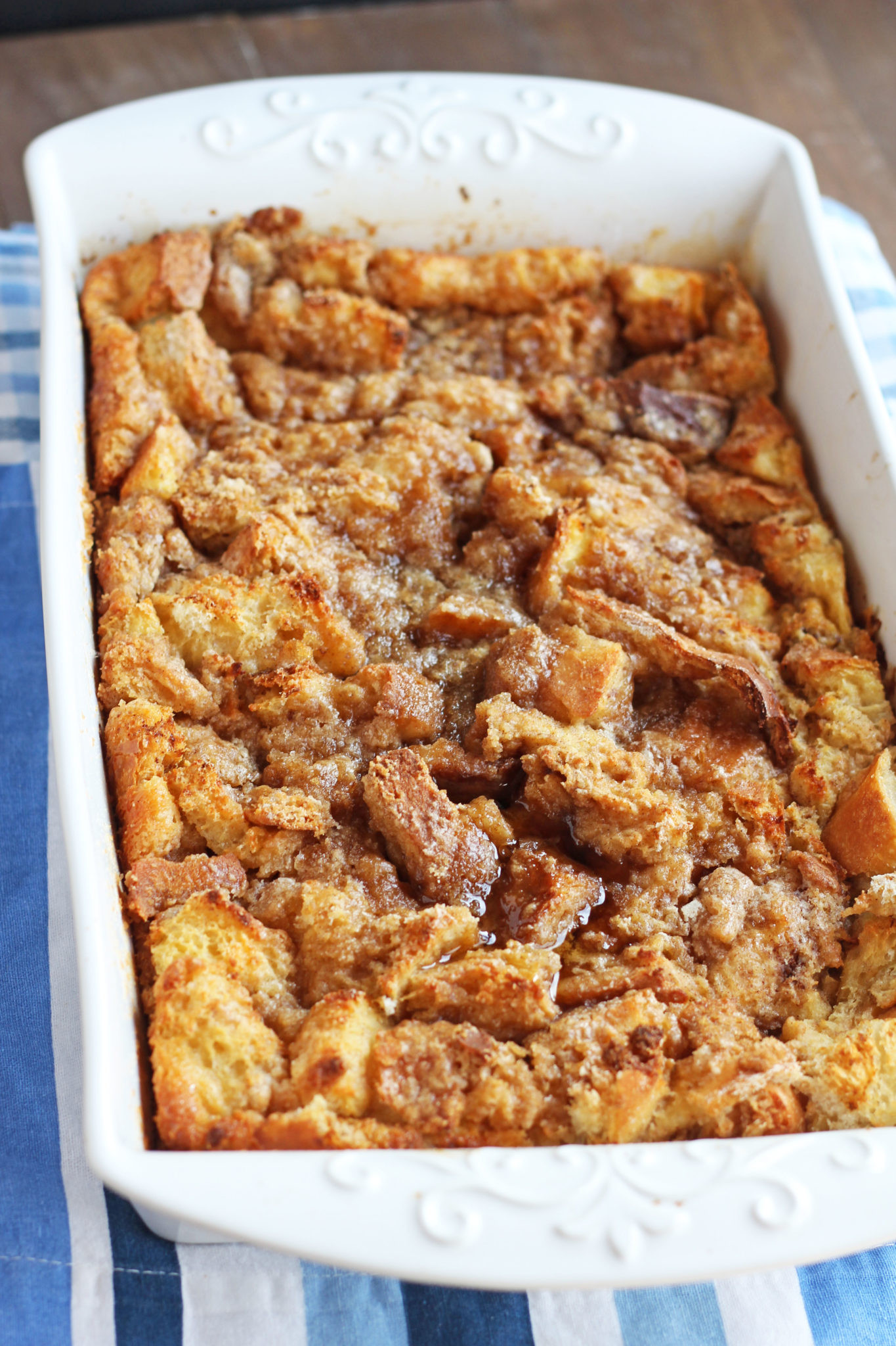French Toast Casserole  Easy Baked French Toast Casserole