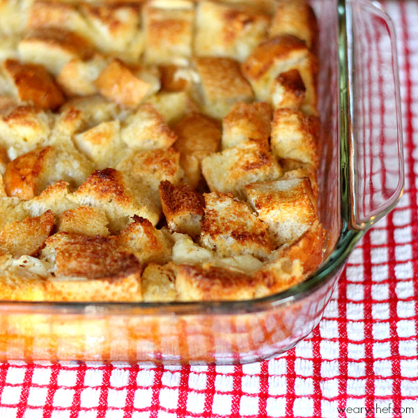 French Toast Casserole  Overnight French Toast Casserole with Cream Cheese