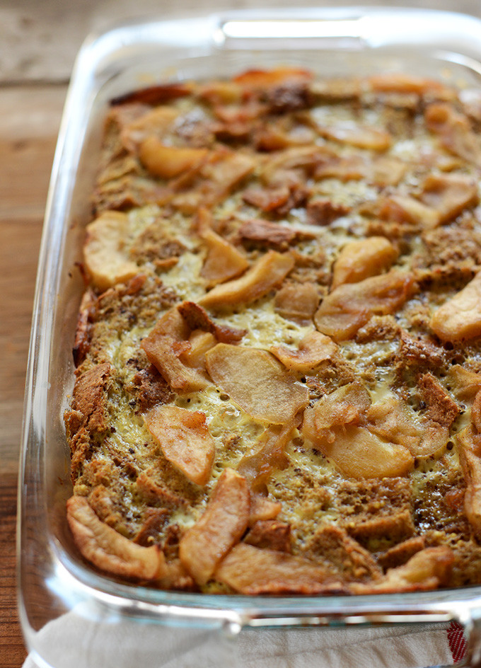 French Toast Casserole With Apples  french toast casserole with apples