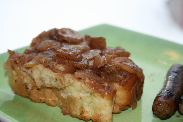 French Toast Casserole With Apples  Apple French Toast Casserole Recipe Food