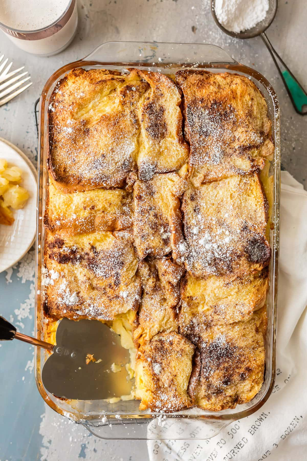 French Toast Casserole With Apples  Apple Pie Overnight French Toast Casserole The Cookie Rookie