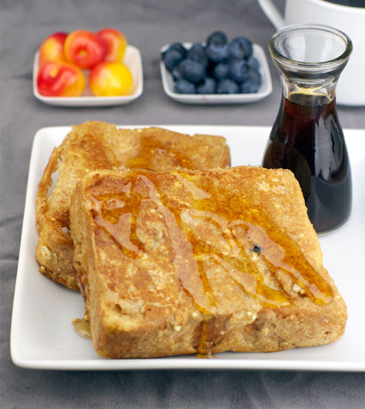 French Toast Pancakes  German Toast aka Pancake French Toast Recipe