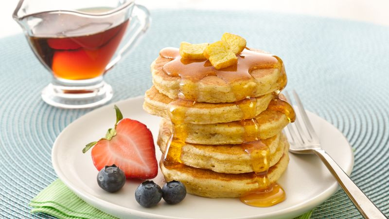 French Toast Pancakes  Mini French Toast Pancakes Recipe BettyCrocker
