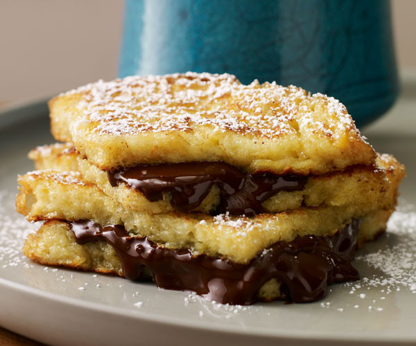 French Toast Sandwich  Chocolate French Toast Sandwiches Recipe FineCooking
