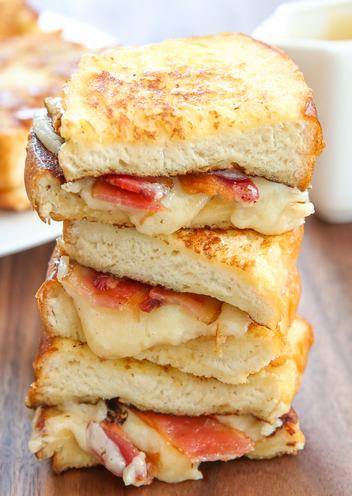 French Toast Sandwich  French Toast Grilled Cheese Sandwich Kirbie s Cravings