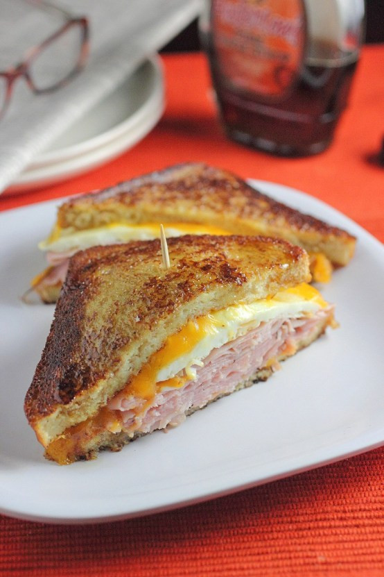 French Toast Sandwich  French Toast Grilled Cheese Sandwich