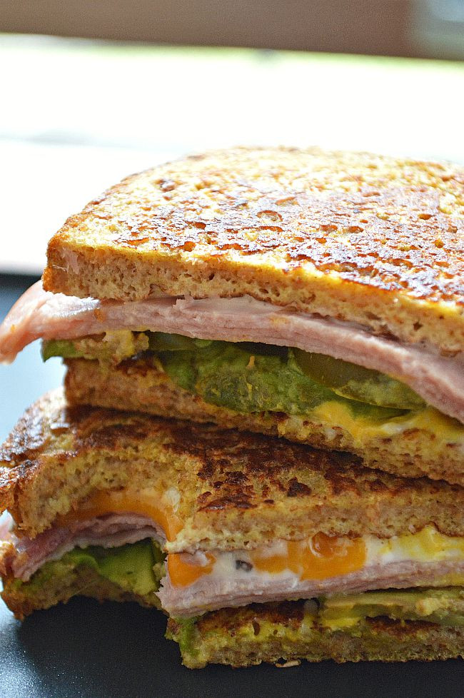French Toast Sandwich  Gluten Free Leftover French Toast Sandwiches Breezy Bakes
