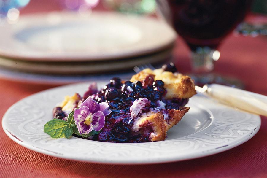 Fresh Blueberry Desserts  Blueberry Bread Pudding Fresh Blueberry Recipes