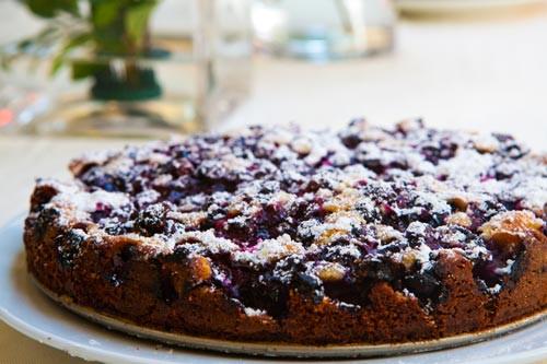 Fresh Blueberry Desserts  Blueberry Cake Recipe