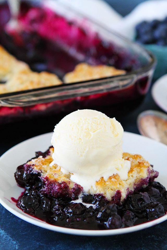Fresh Blueberry Desserts  Blueberry Cobbler Two Peas & Their Pod