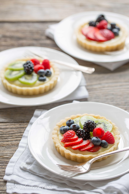 Fresh Fruit Desserts  Fresh Fruit Tarts Saving Room for Dessert