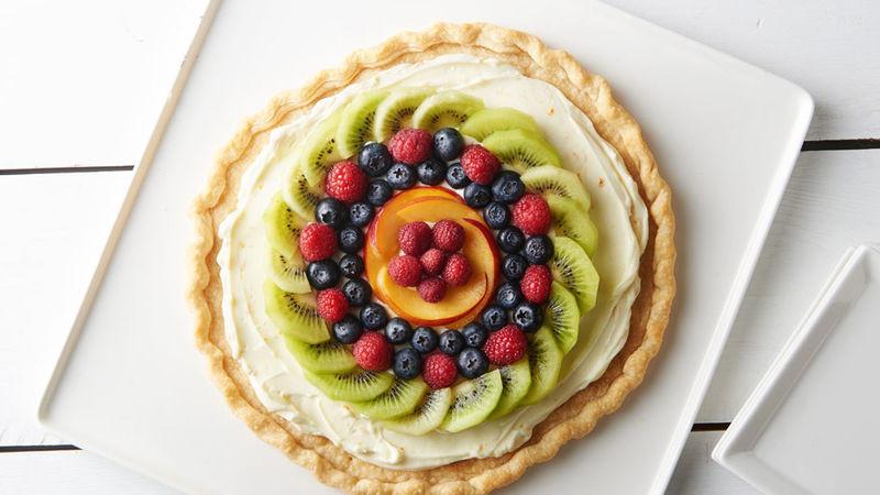 Fresh Fruit Desserts  Easy Fresh Fruit Dessert Pizza Recipe Pillsbury